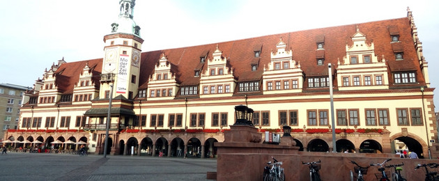 the old town hall and the market place altes rathaus markt stadt leipzig. Black Bedroom Furniture Sets. Home Design Ideas